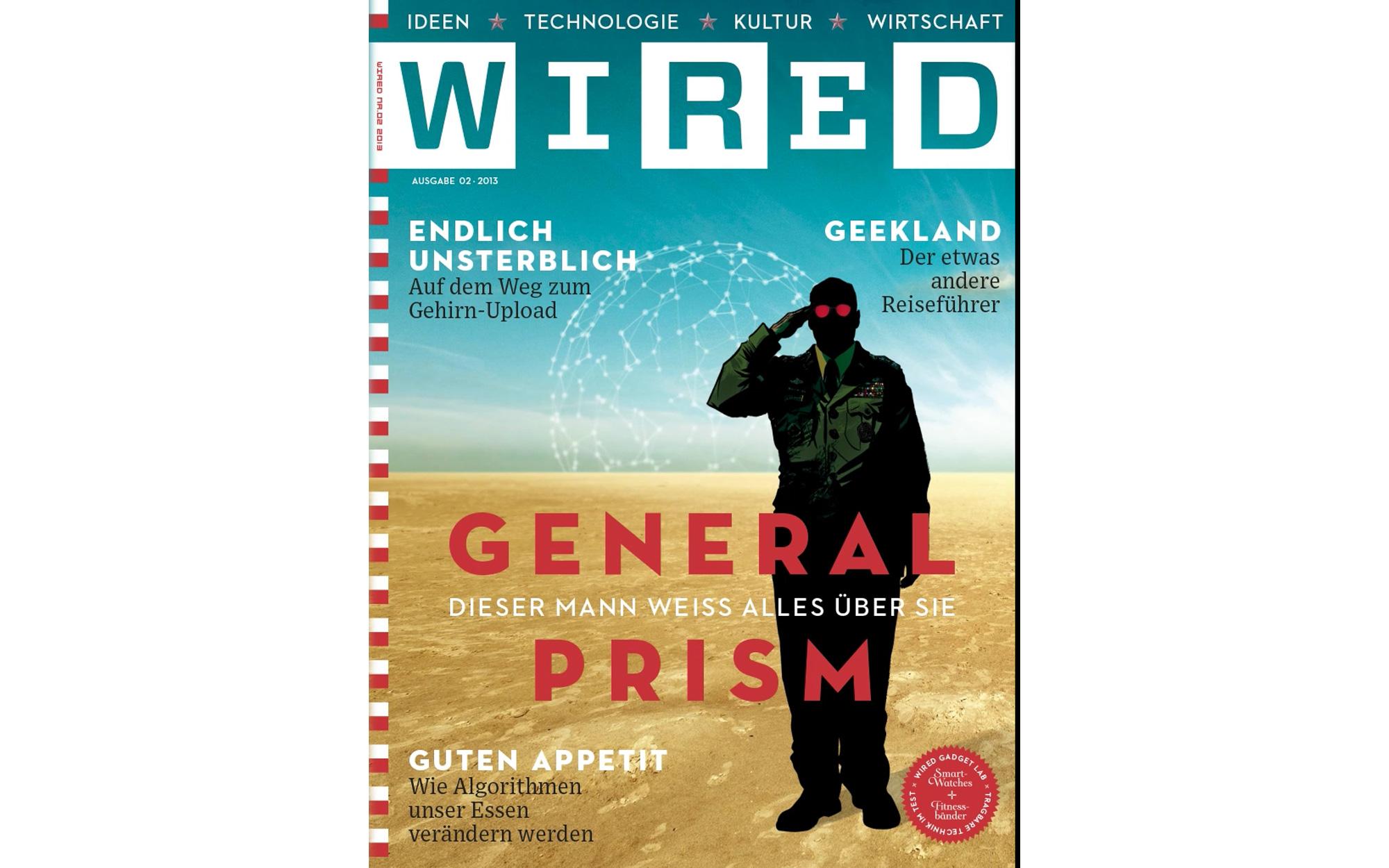 WIRED GERMANY MAGAZINE – Brainrental – Lab