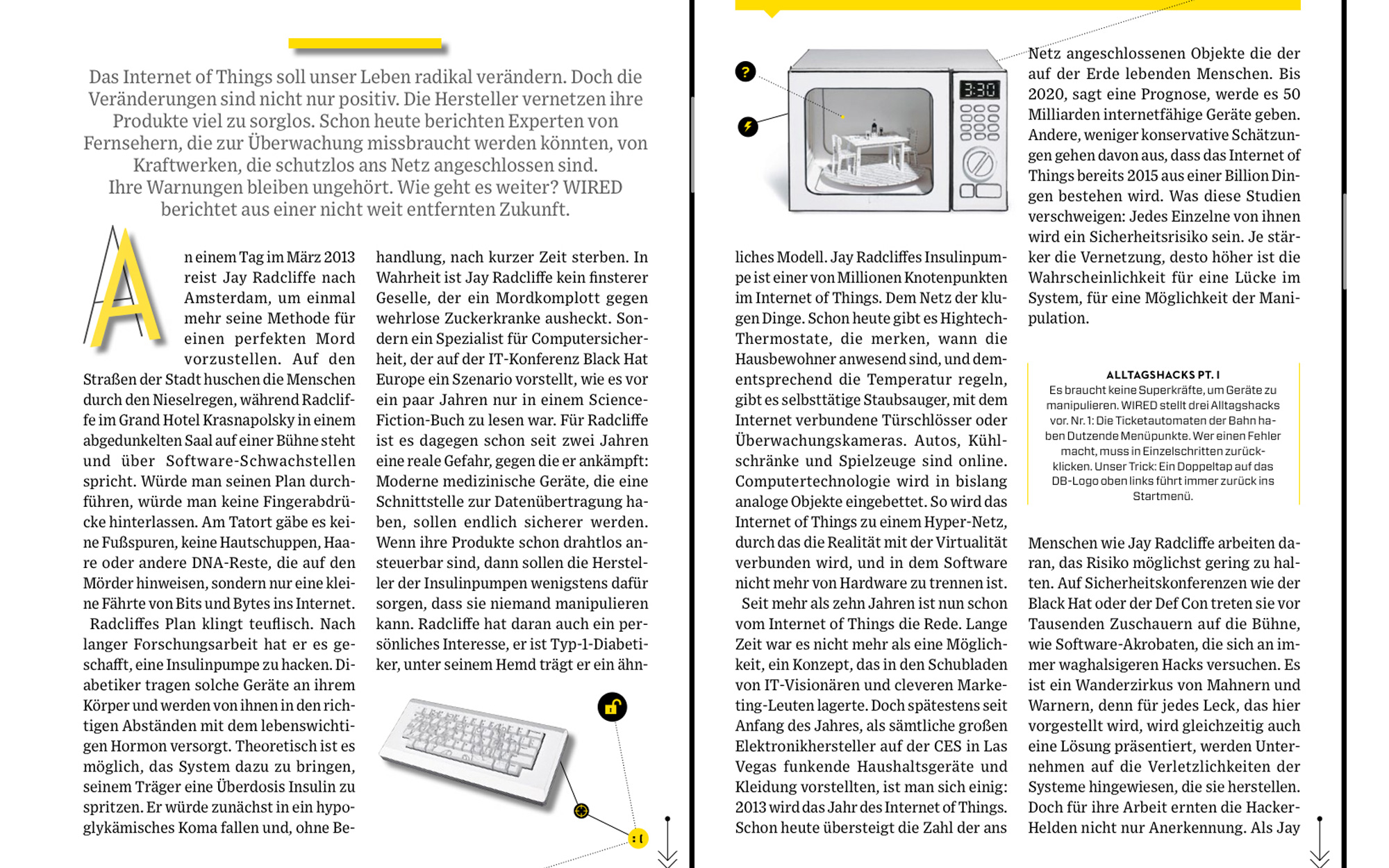 WIRED GERMANY MAGAZINE – Brainrental – Lab