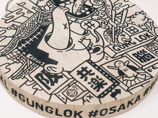 GUNGLOK | CHOPPING BOARD ARTWORK