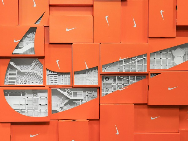 NIKE HK HEADQUARTER | FEATURE WALLS